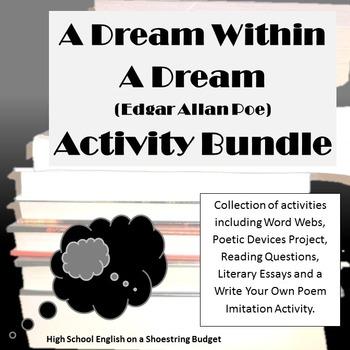A Dream Within a Dream Activity Bundle (E.A. Poe) Word