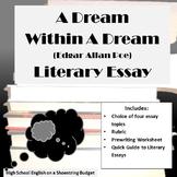 A Dream Within a Dream Literary Essay (E.A. Poe)