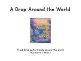 A Drop Around the World-Map Drop's Travels