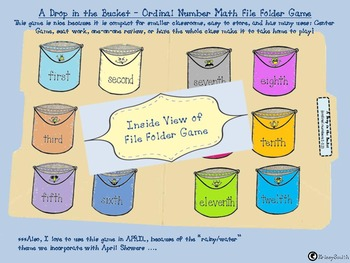 A Drop in the Bucket April Game REVISED