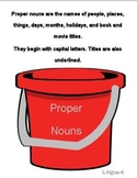 A Drop in the Bucket common and proper nouns