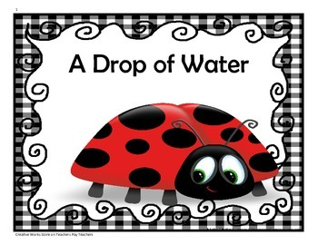 A Drop of Water - 4th Grade Activities and Trifolds ( Reading Wonders)