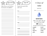 A Drop of Water Trifold - Wonders 4th Grade Unit 5 Weeks 1-2 (2020)