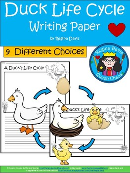 A+ Duck Life Cycle ... Writing Paper