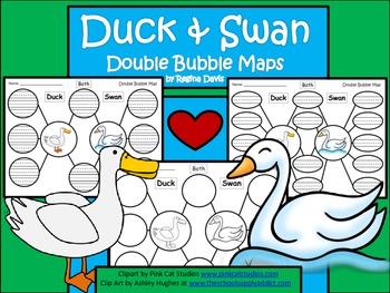 A+ Duck & Swan:  Double Bubble Maps