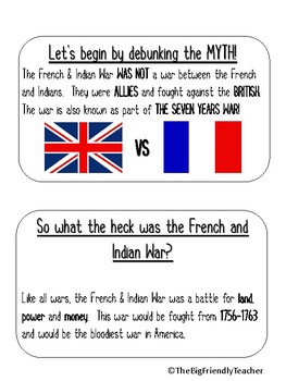 A Dummies Guide to the French and Indian War