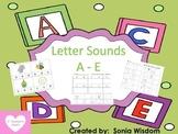 A - E Beginning Sounds Packet