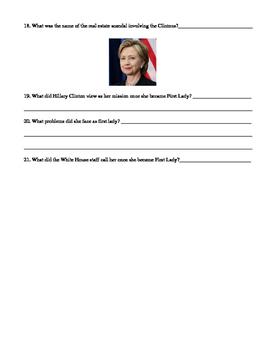 A&E Biography Hillary Clinton Video Guide