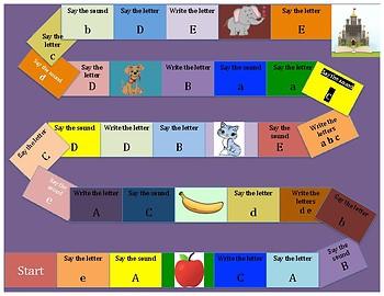 A-E Board Game