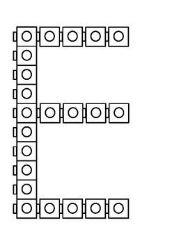 A-E Connecting Cubes