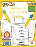 Spelling: Writing U Syllables (Spanish)