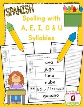 Spelling: Writing U Syllables (Spanish)
