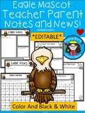 A+ Eagle: *EDITABLE* Papers For Teacher News and Notes To Parents