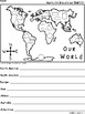 A+ Earth Day: Map and Math Shapes