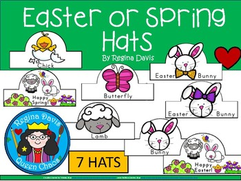 A+ Easter or Spring Hats