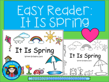 A+ Easy Reader...It Is Spring
