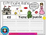 A+ El Príncipe Rana...Three Spanish Graphic Organizers
