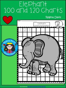 A+ Elephant: Numbers 100 and 120 Chart