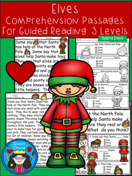 A+ Elves Comprehension:Differentiated Instruction For Guid