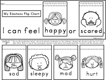 A+ Emotions... Flip Chart: Differentiated Instruction