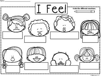 A+ Emotions... Posters and Labeling: Differentiated Instruction