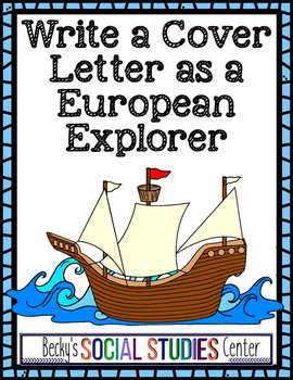A European Explorer in Search of a Job - Write a Cover Let