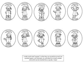 A+ Kindergarten Graduation Puppets