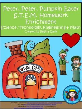 STEM Science, Technology, Engineering, Math Peter, Peter Pumpkin Eater