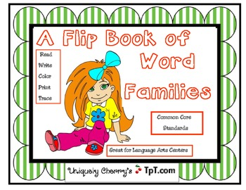A FLIP BOOK OF WORD FAMILIES