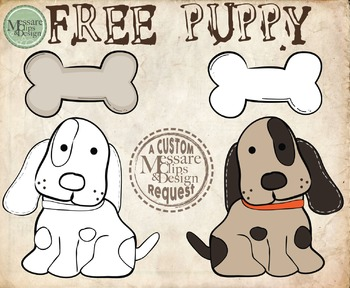 A FREE PUPPY MCD Freebie {Messare Clips and Design}
