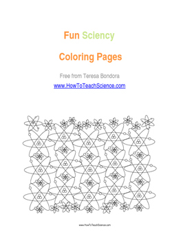A FREE SCIENCY ACTIVITY COLORING BOOK for all ages