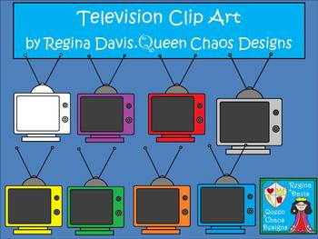 A+ Television Clip Art