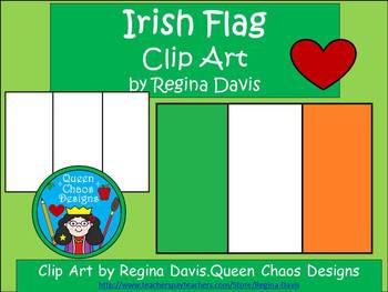 A+ Irish Flag For St. Patrick's Day Clip Art