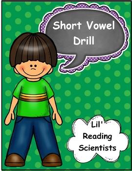 A FREEBIE!  Short Vowel Drill (OG)
