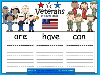 A+  FREEBIE for Veterans Day... Veterans: Three Graphic Or