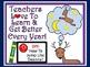 A+ FREEBIE....Teacher Motivational Poster:  Learn To Jump Like Deanna!