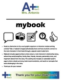 """A+ Facebook Character Profile & Book Overview -  """"mybook"""""""