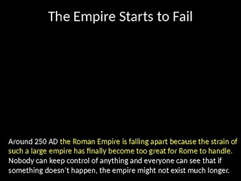 A Failing Roman Empire