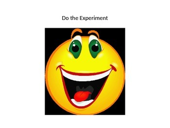 A Fair Test Template (Scientific Experiment Template for Y