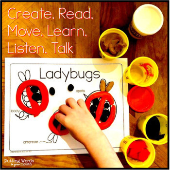 DOUGH Bugs & Worms for Speech & Language