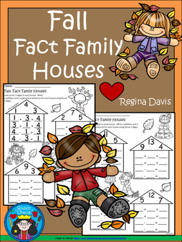 A+ Fall  Fact Family Houses