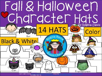 A+ Fall and Halloween Character Hats
