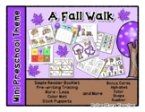 A Fall Walk - Mini Preschool Theme