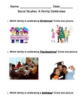 A Family Celebrates