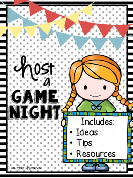 A Family Event: Host a Game Night
