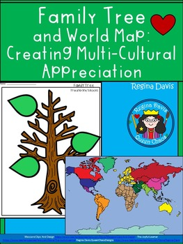 A+ Family Tree And World Map: Creating Multi-Cultural Appr