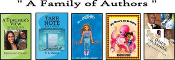 A Family of Authors - 4 Book Set