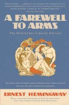 A Farewell to Arms Book III Hemingway Forum / Discussion/ Essay/ Group Questions