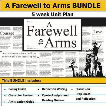 A Farewell to Arms Unit Bundle