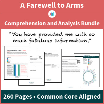 A Farewell to Arms – Comprehension and Analysis Bundle